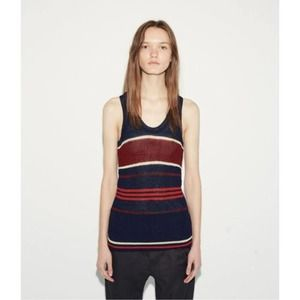 Isabel Marant Dully Striped Knit Tank Sweater